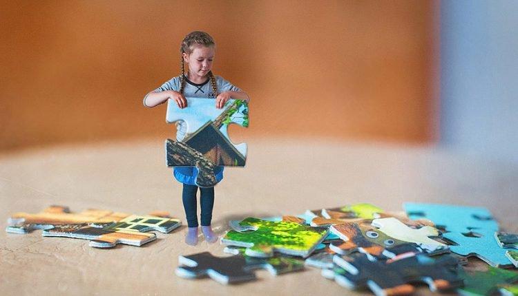 تاثیر جورچین و پازل در رشد ذهنی کودکان