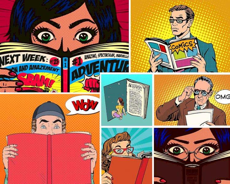 چطور کمیک یا داستان مصور بخوانیم؟