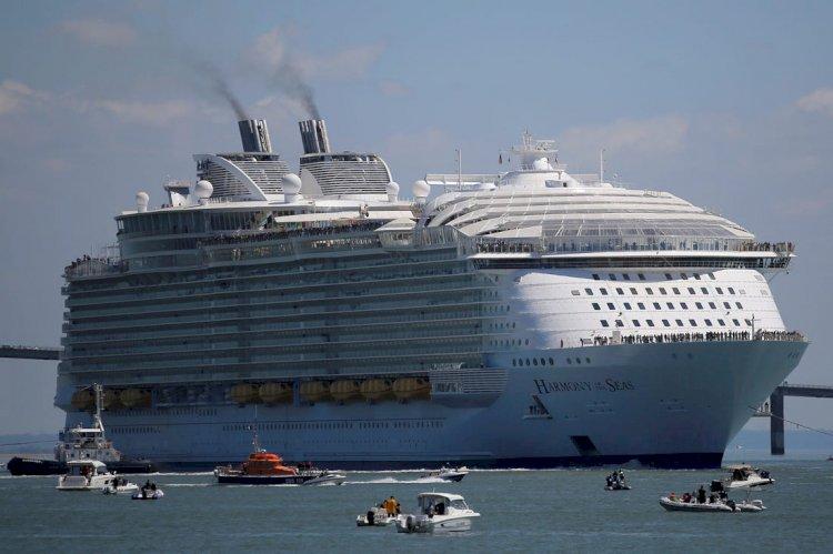 معرفی و آشنایی با بزرگترین کشتیهای مسافربری جهان