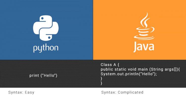 مقایسه دو زبان برنامه نویسی محبوب پایتون و جاوا