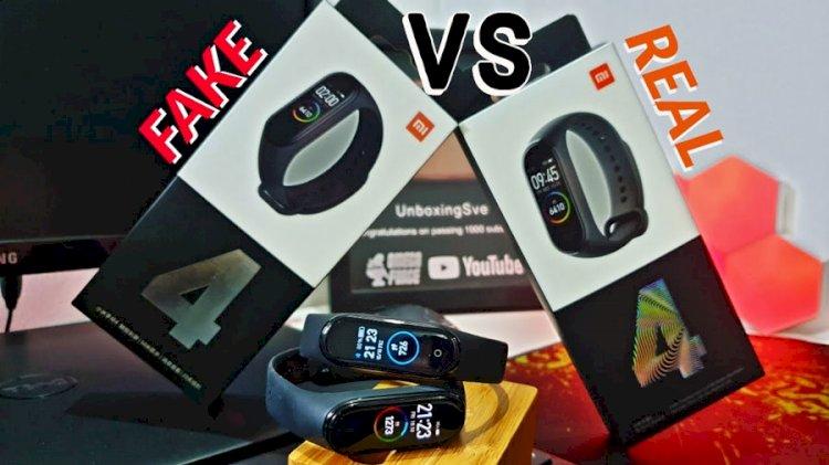 راههای تشخیص نسخه اصل و تقلبی دستبند هوشمند می بند 4 شیائومی