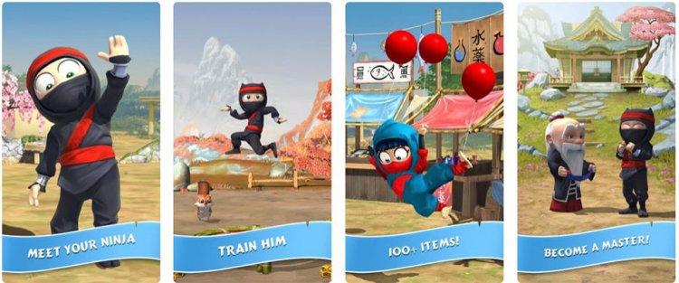 دانلود بازی خنده دار Clumsy Ninja
