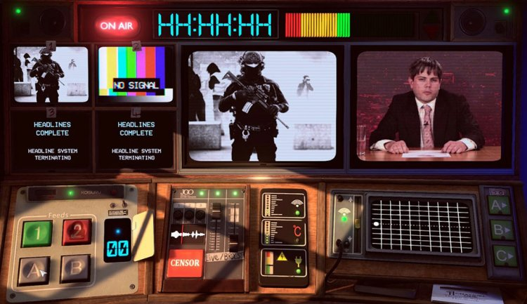 بازی کمدی Not For Broadcast