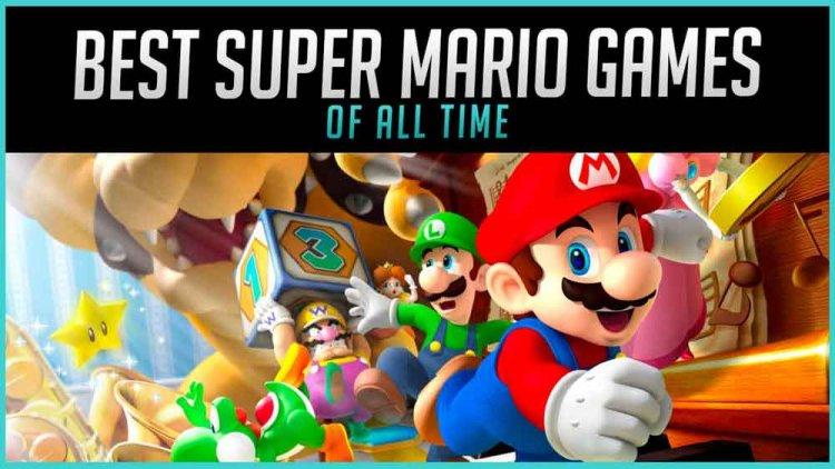 با بهترین بازی های ماریو آشنا شوید