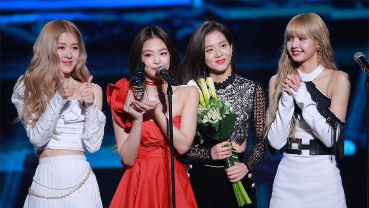 جوایز گروه بلک پینک