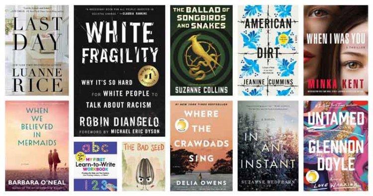 لیست پرفروش ترین کتاب های جهان 2020