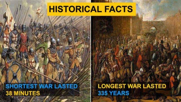طولانی ترین جنگ تاریخ ، با بزرگ ترین جنگ های تاریخ آشنا شوید