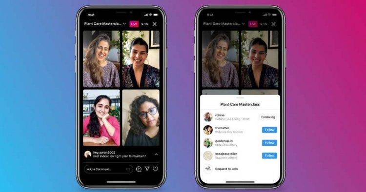 آموزش ایجاد لایو ۴ نفره در اینستاگرام با Instagram Live Room